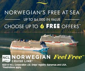 Norwegian Feel Free – Secret Garden Travel Company
